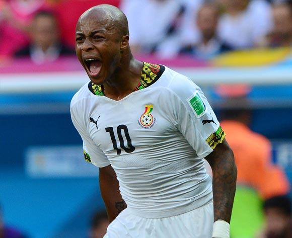 Ghana winger Andre Ayew