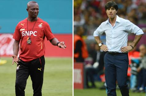 Kwesi Appiah and Joachim Low.