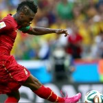 2014 World Cup: Ghana captain Asamoah Gyan equals Africa's World Cup goal record
