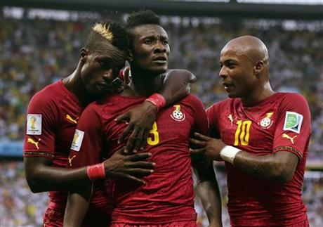 Asamoah Gyan was ready to trade blows with journalist