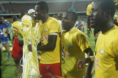Seidu Bancey's strike won Kotoko the FA Cup