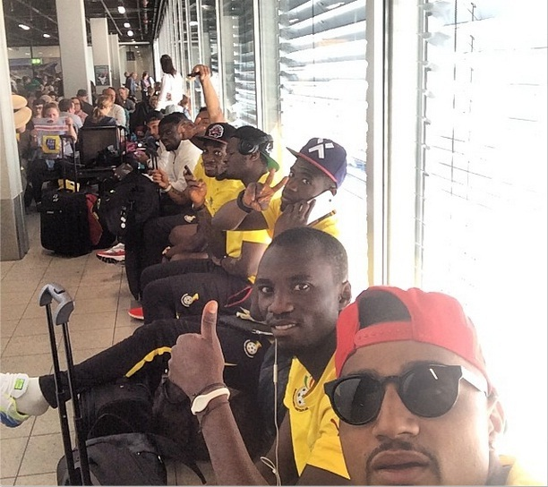 Black Stars players ready to fly out to USA