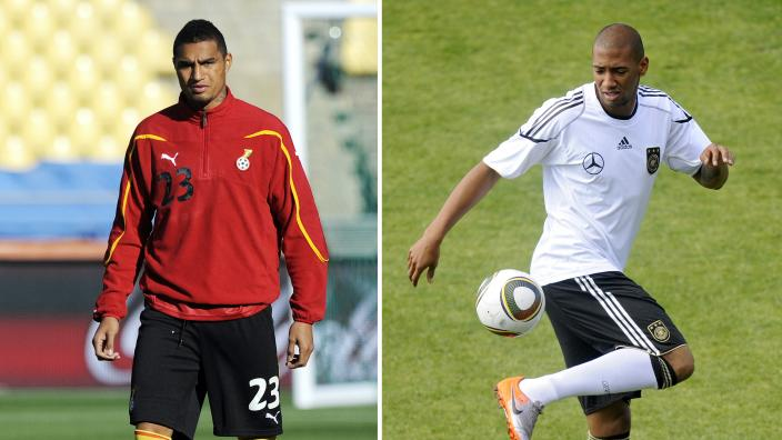 The Boateng brothers will again line up on opposing sides at the FIFA World Cup finals.