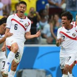 2014 World Cup: Costa Rica rally to stun Uruguay in Group D