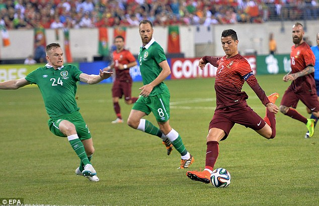 Cristiano Ronaldo captained Portugal to victory