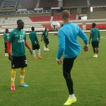 Black Stars make quick training return following USA defeat, focusing on Germany