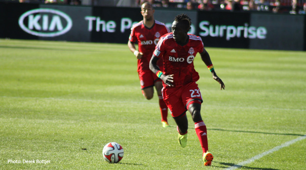 Dominic Oduro is expected to hit the road running