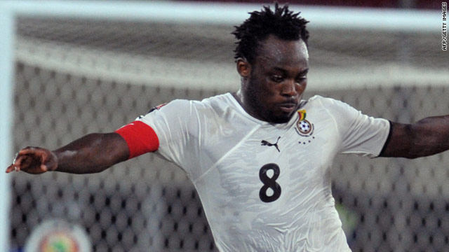 2014 World Cup: Michael Essien dumped 'cursed' No.8 jersey to avoid injuries - Tema Youth president