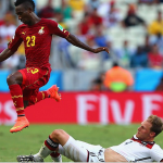 Ghana defender Harisson Afful earns rave reviews for explosive display against Germany