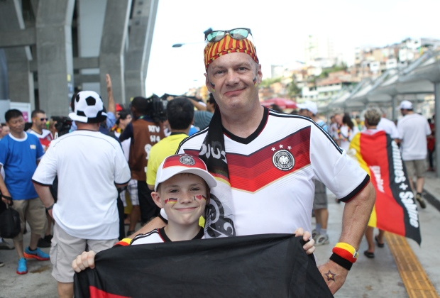 German fans running their mouths ahead of Ghana clash