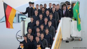 Ghana's foes Germany depart for Brazil World Cup under shadow of injuries