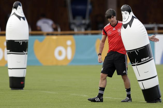Germany's coach Joachim Loew