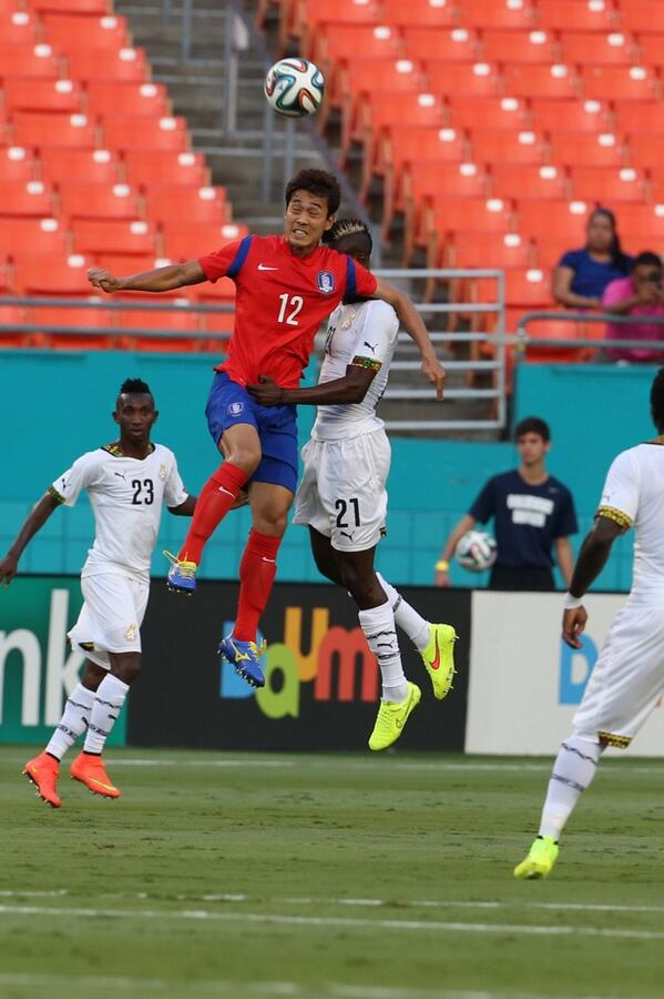 PICTURES: Ghana vrs South Korea pre-World Cup friendly