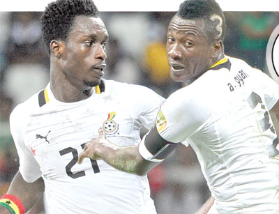 Ghana defender John Boye talks about Asamoah Gyan's influence at Rennes