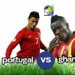 LIVE UPDATES: Portugal 2-1 Ghana