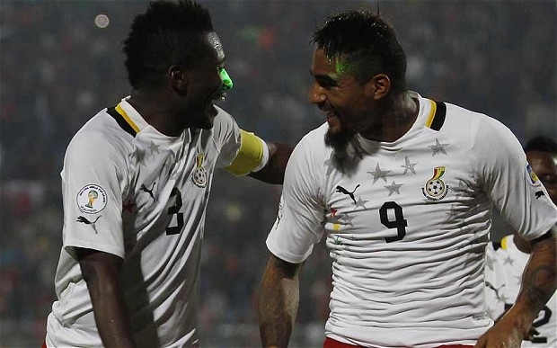 Party time: Ghana hope to go one better in Rio without Luis Suarez's intervention