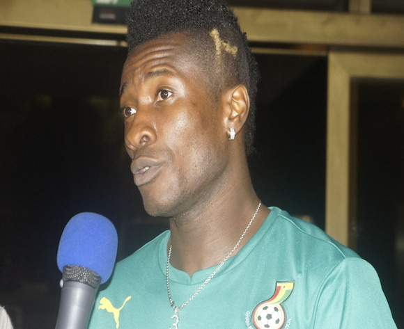 Asamoah Gyan has been praised by Frederic Kanoute.