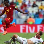 2014 World Cup: Harrison Afful not sure of Ghana starting place despite impressing in thrilling Germany draw