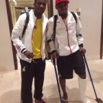 2014 World Cup: Crocked Jerry Akaminko gets doctor's assessment ahead of ankle surgery