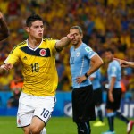 2014 World Cup: James Rodriguez scores twice as Colombia beat Uruguay 2-0 in last-16 clash