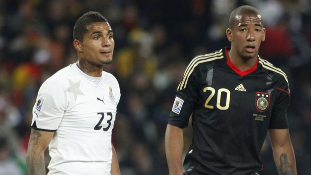 evin-Prince Boateng will be squaring off against his brother Jerome