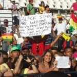 PICTURES: Local fans in Maceio watch Black Stars training
