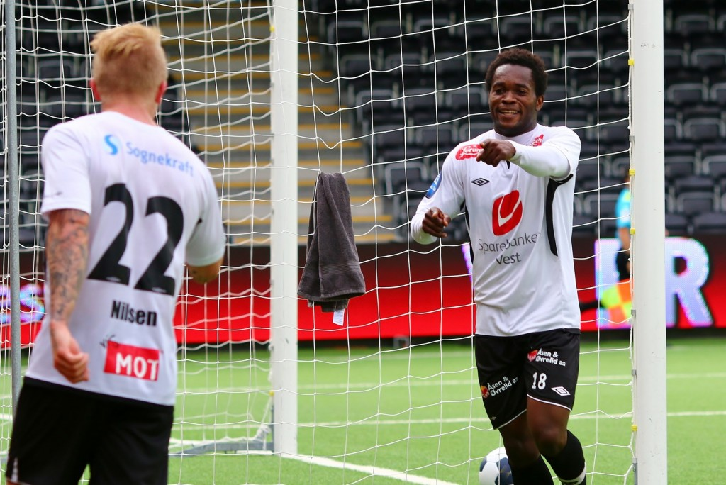 Ghana striker Mahatma Otoo hits brace for Sogndal FF in Norwegian FA Cup
