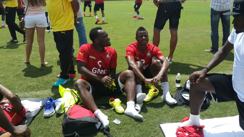 Black Stars training in Florida.