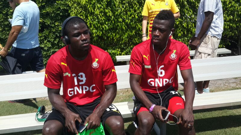 Jonathan Mensah and Afriyie Acquah