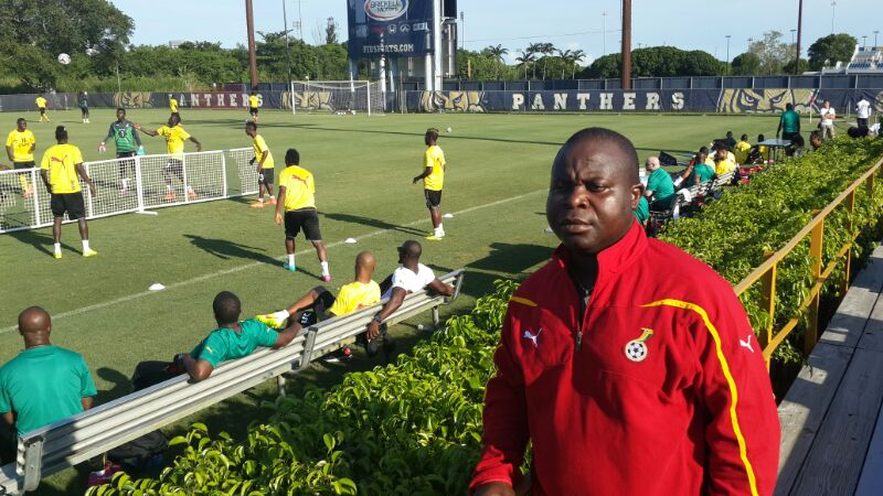 Black Stars training in Florida.