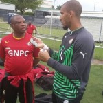 2014 World Cup: Goalkeeper Adam Kwarasey pulls out of Ghana training with suspected thigh problem