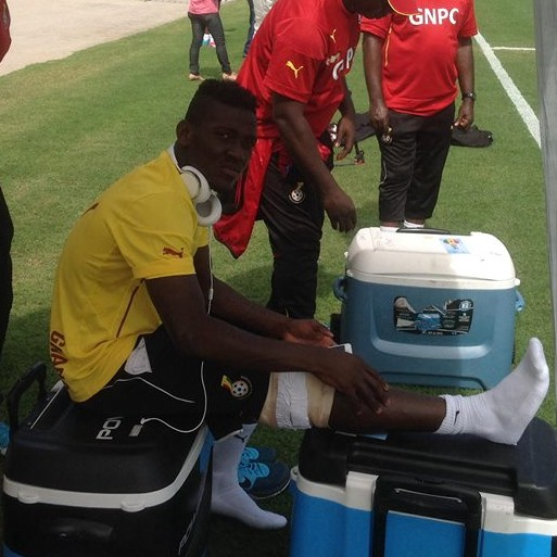 Daniel Opare sat out training on Monday