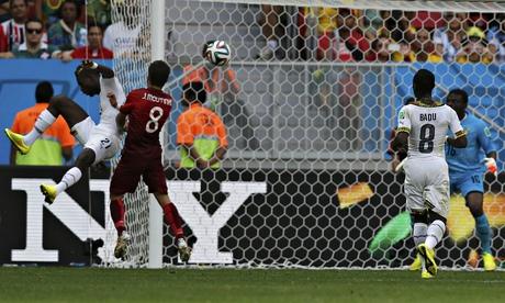 Player ratings - Ghana 1-2 Portugal