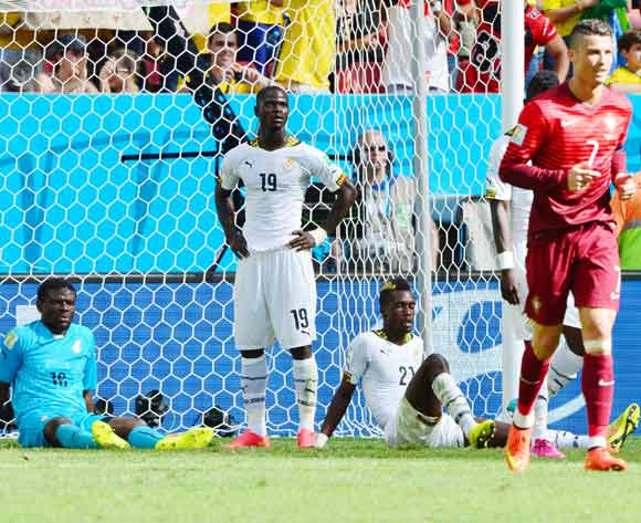 Ghana's match against Portugal