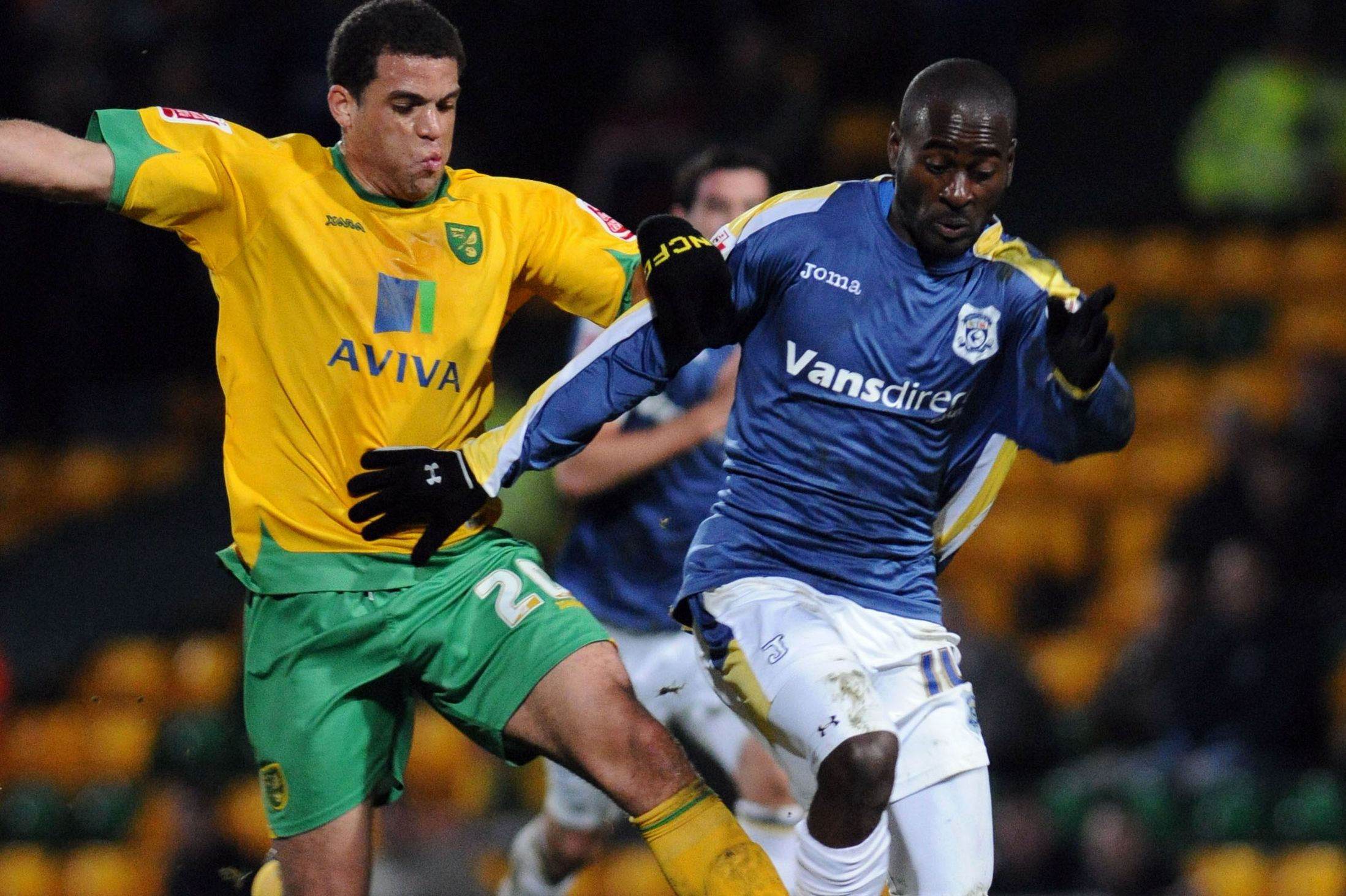 Quincy Owusu Abeyie has been rated as failure at Cardiff City