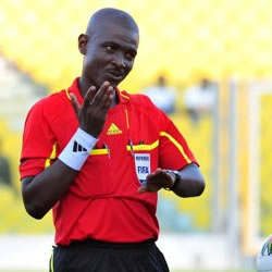 Referee J.O Lamptey