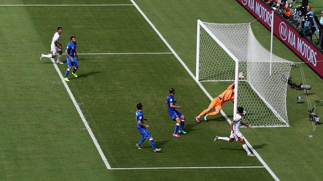 Costa Rica's goal