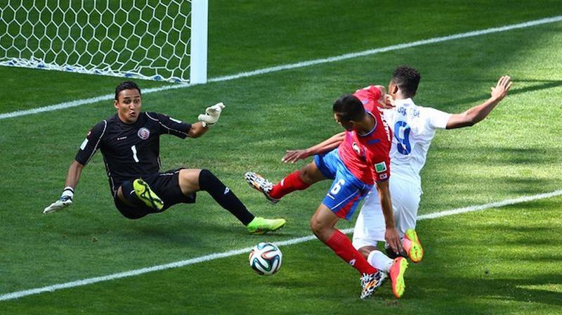 Costa Rica against England
