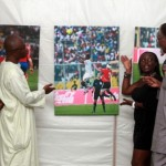 Leading Ghanaian photo journalist Senyuiedzorm auctions pictures to buy balls for deprived communities