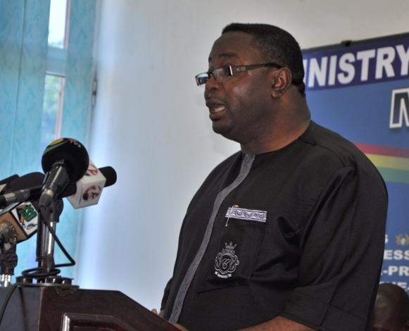 Sports Minister Elvis Afriyie-Ankrah
