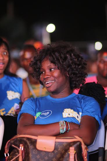Tigo have set up fan parks across six regions in Ghana