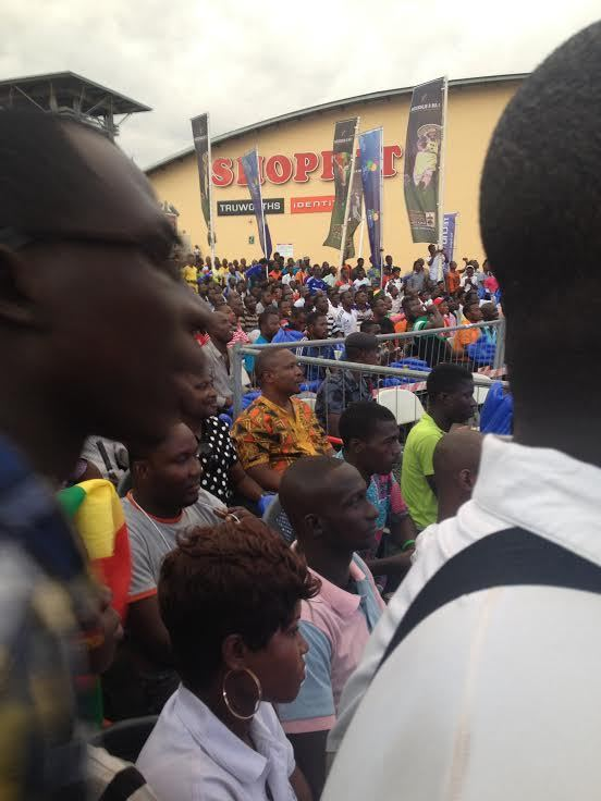 Tigo Fan Park at Accra mall