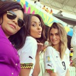 PHOTOS: Wives and girlfriends of Ghana players at World Cup