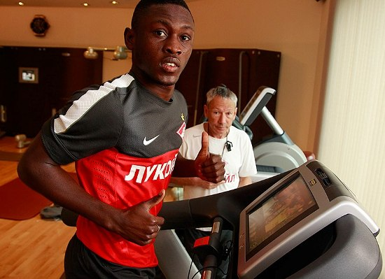 Abdul Majeed Waris has a slight tear in his left thigh