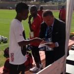 2014 World Cup: Harrison Afful ready for battle against Cristiano Ronaldo in Portugal clash
