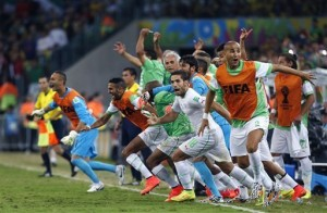 Amid the pay chaos, Africa makes World Cup history    Read more here: http://www.miamiherald.com/2014/06/27/4205864/amid-the-pay-chaos-africa-makes.html#storylink=cpy