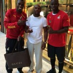 2014 World Cup: John Boye and Jonathan Mensah meet undefeated boxing champion Floyd Mayweather Jnr in Miami
