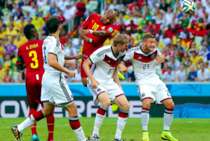 Germany vs. Ghana, a game of hearts