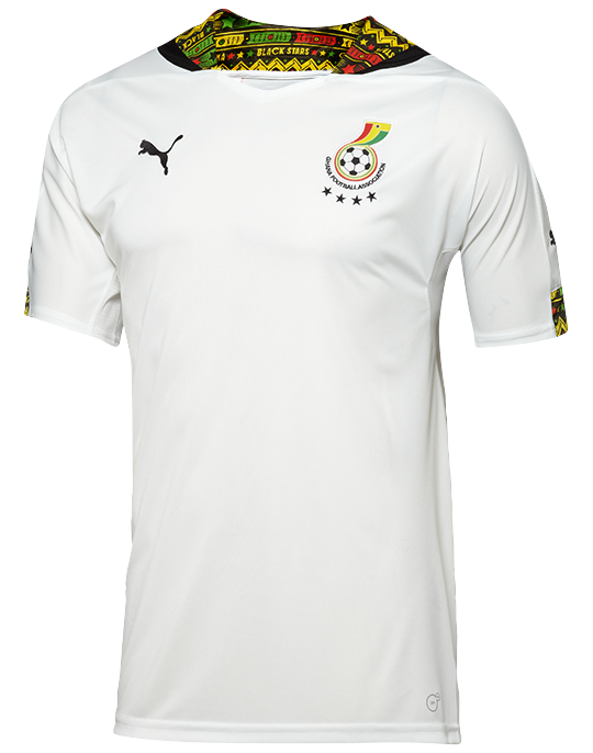 Ghana's jerseys for 2014 World Cup ranked best