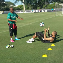 Ghana got massive boost on Thursday night when injured goalkeeper Adam Kwarasey returned to training to boost the Black Stars camp in preparation for the 2014 World Cup this month.